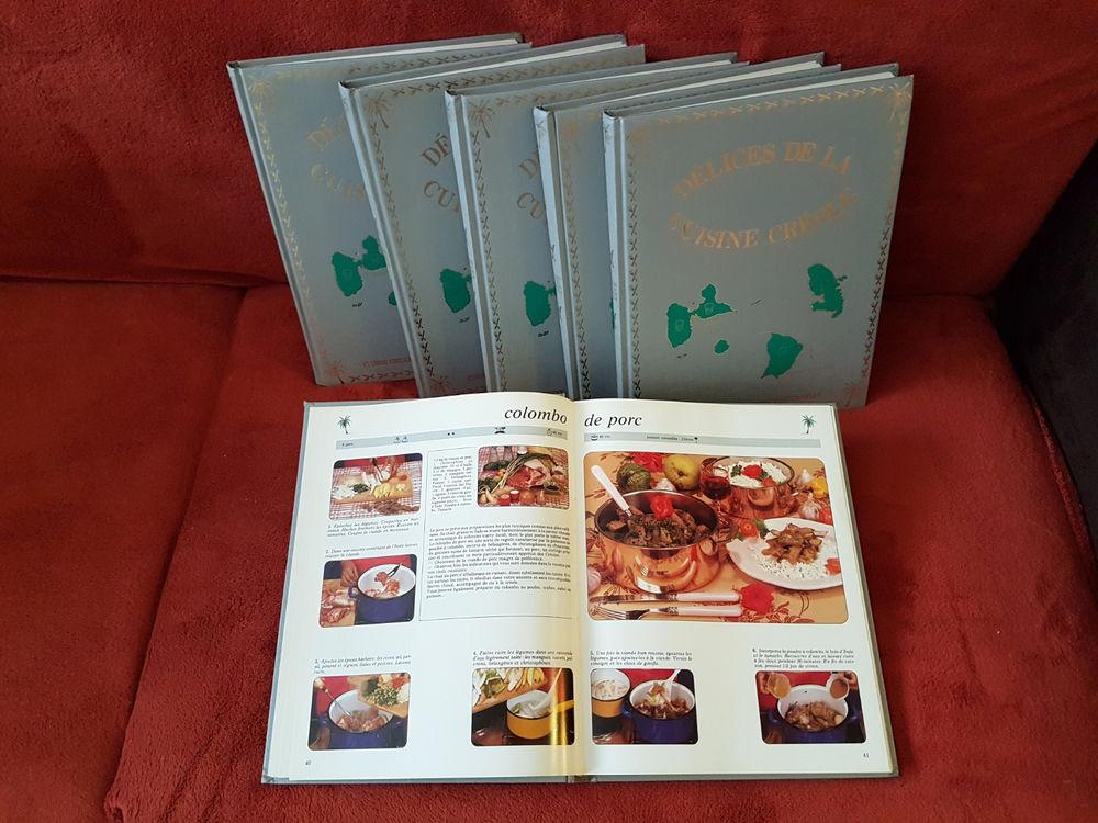 Délices de la cuisine créole (Antilles) 6 Volumes 350 Paris 15 (75)