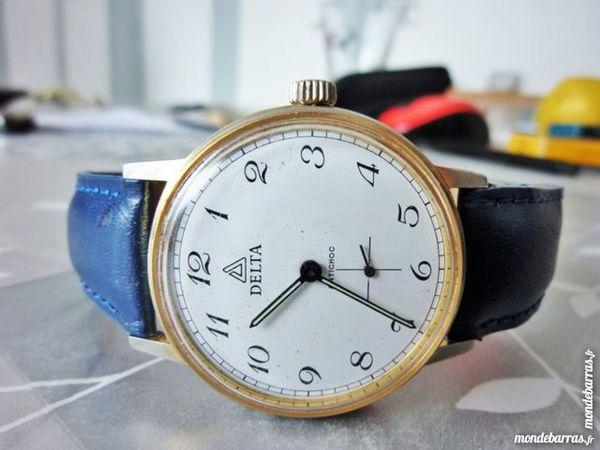 DELTA Cupillard 233-68 montre mécanic 1960 MEC0028 Bijoux et montres
