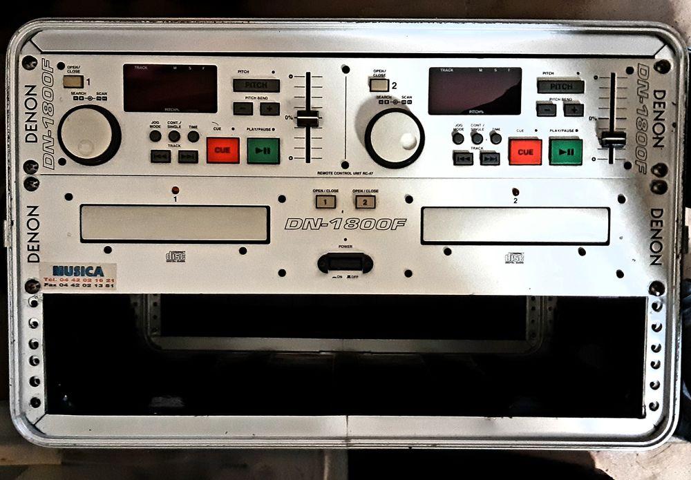 Denon DN 1800F - Platine Lecteur DJ Double CD  150 Meyreuil (13)