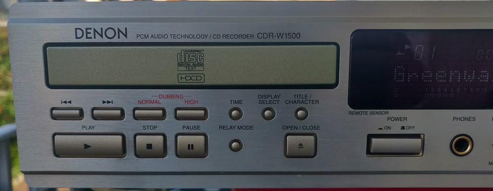 DENON CDRW-1500 High End double lecteur CD enregistreur  400 Fontenay-sous-Bois (94)