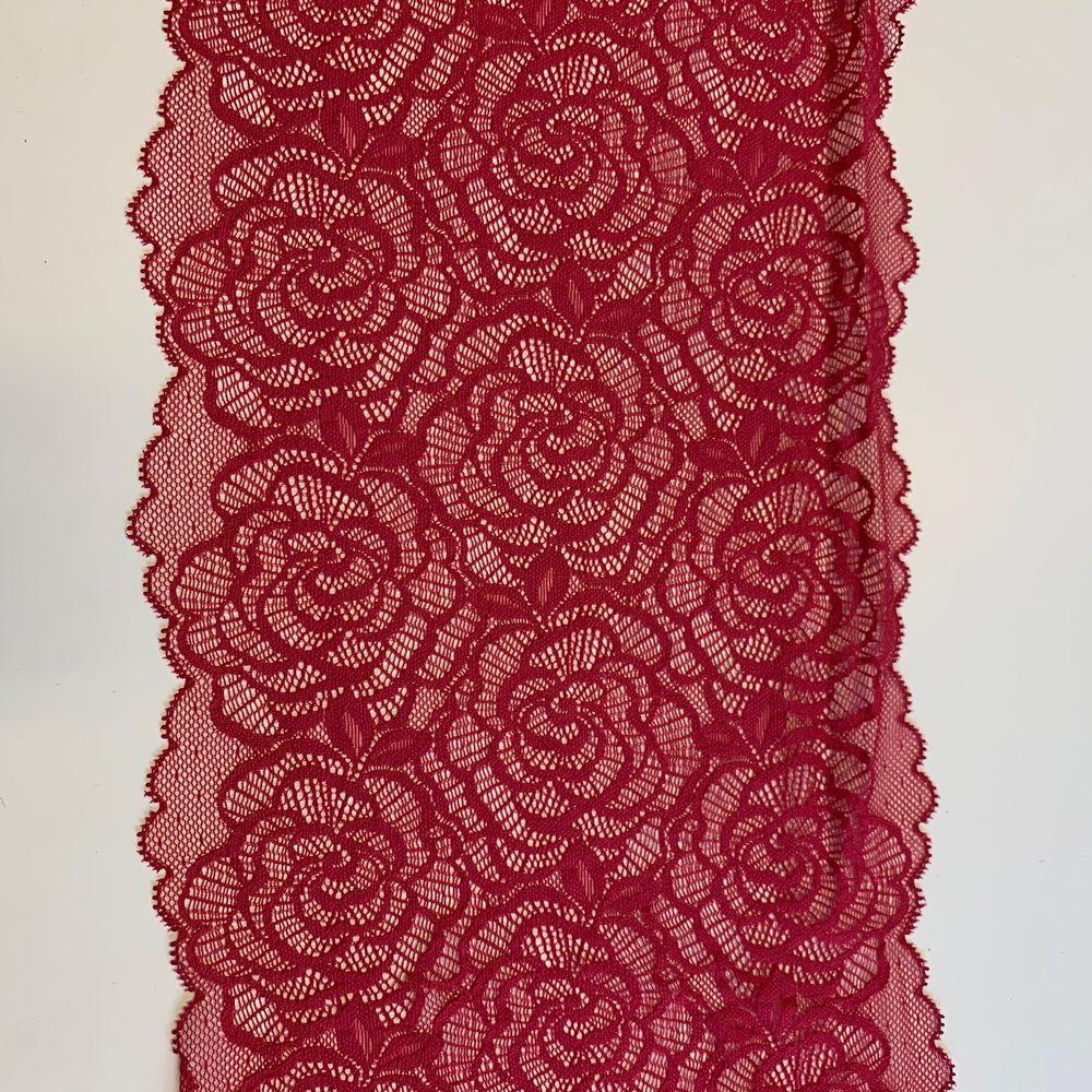 Lot de 4.50m de dentelle de calais rose fuchsia     16 Saumur (49)