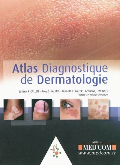 Dermatologie Pédiatrique /atlas diagnostique de dermatologie Livres et BD