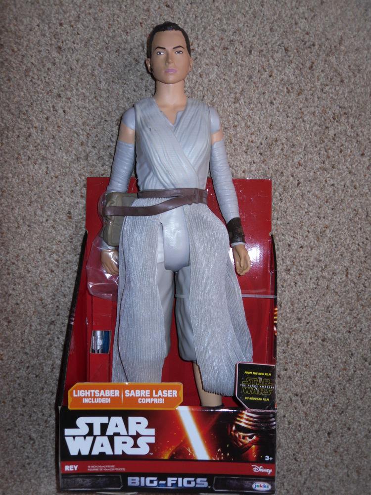 Dernier Jedi : Rey Star Wars Grande Figurine 46cm Neuf 25 Neuville-de-Poitou (86)