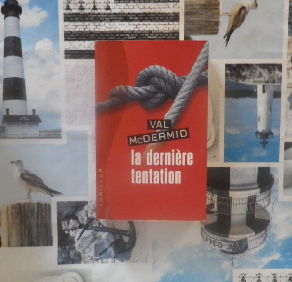 LA DERNIERE TENTATION de Val McDERMID Ed. France Loisirs 3 Bubry (56)