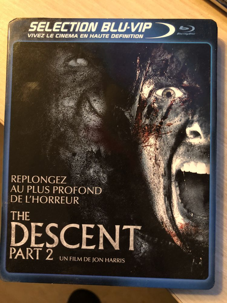 Blu-ray The Descent 2 DVD et blu-ray