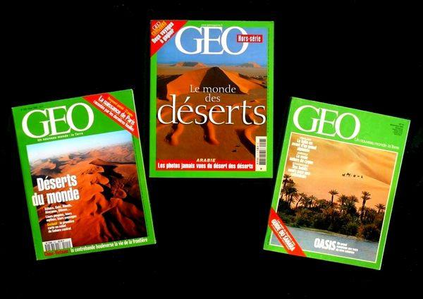 DESERT.gobi, sahara, etc. GEO / prixportcompris 13 Reims (51)