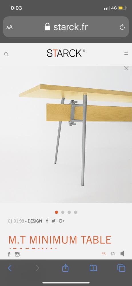 Design table de repas ou peut être en bureau  800 Antibes (06)