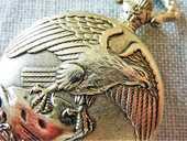 LUC DESROCHES montre gousset AIGLE 1980 GOC0063 80 Metz (57)