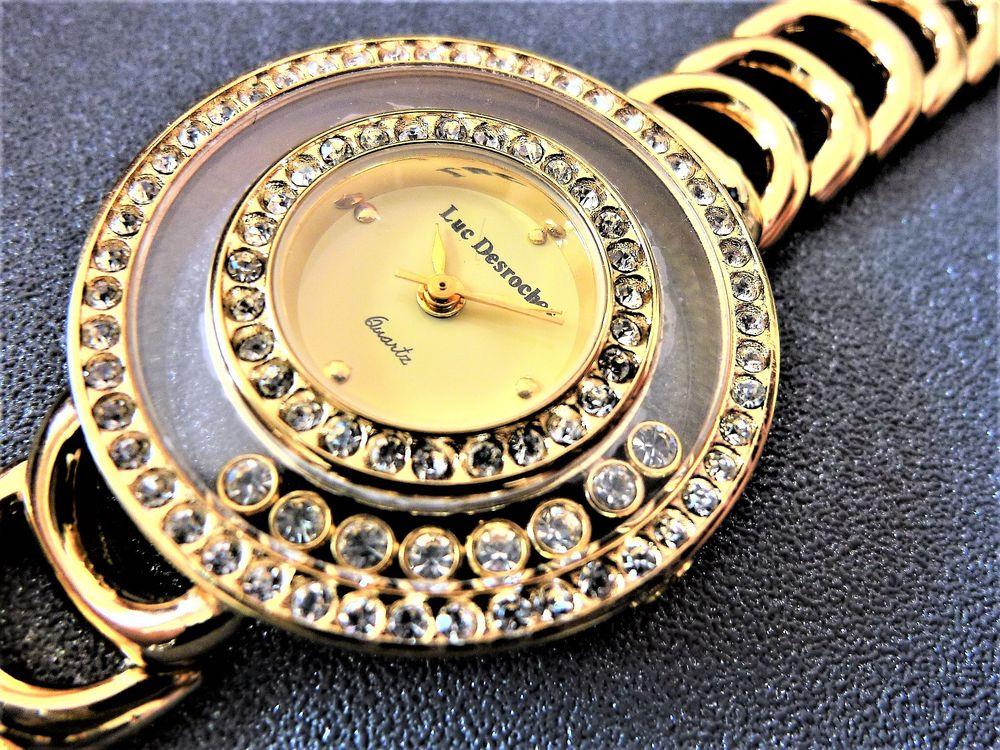 LUC DESROCHES STRASSTISSIMO montre bijoux dame 1980 DAM1004 110 Metz (57)