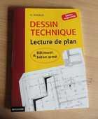 DESSIN TECHNIQUE - Lecture de plans 10 Louhans (71)