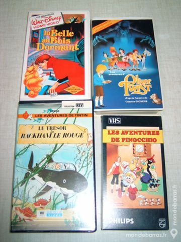 Vhs Dessins animes henri59 DVD et blu-ray
