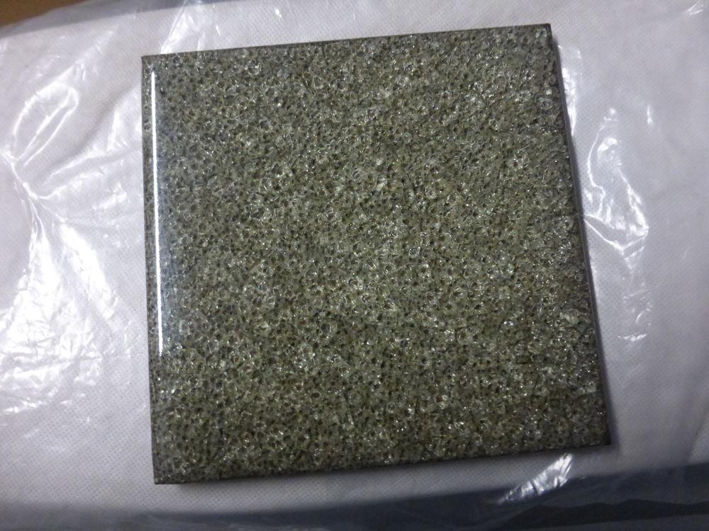 DESSOUS DE PLAT éclat de verre gris 2 Doussard (74)