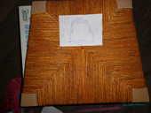 Dessus de chaise en paille fait main 12 Merville (59)