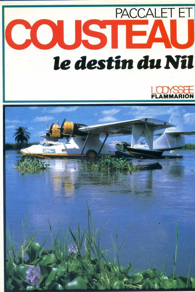 le destin du Nil - Cousteau Livres et BD