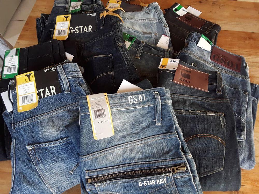 Déstockage 111 Jeans G-Star Homme, Neufs 2200 Soustons (40)