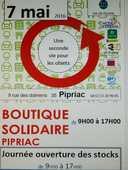 """déstockage de printemps à la recyclerie """"boutique solidaire"""" 0 Pipriac (35)"""