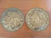 Deux assiettes en laiton Tunisiennes en excellent état 30 Ajaccio (20)