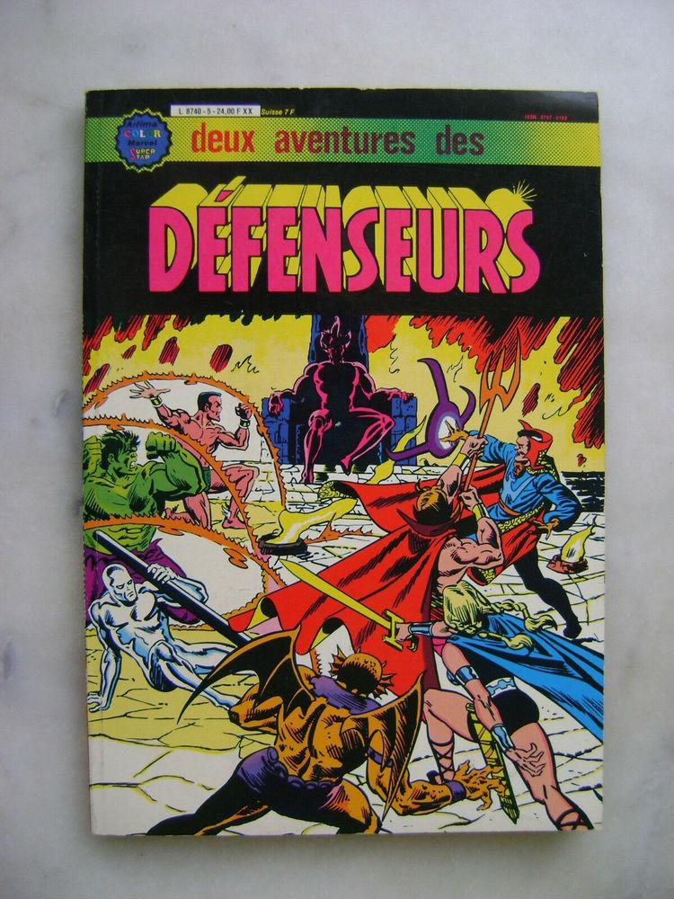Deux Aventures Des Défenseurs Album 5 5 Paris 13 (75)