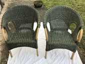deux beaux fauteuilles en osier 800 Romorantin-Lanthenay (41)