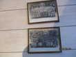deux cadres photos militaires