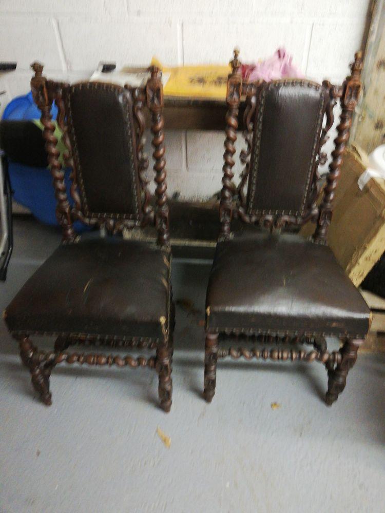 Deux chaises ancienne à rénover  30 Trun (61)