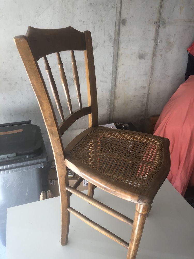 deux chaises cannés 10 Marcigny (71)
