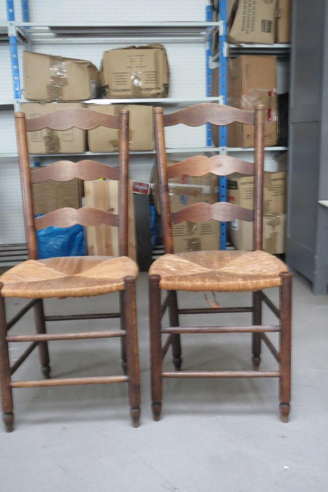 Deux chaises paillées anciennes 35 Rennes (35)