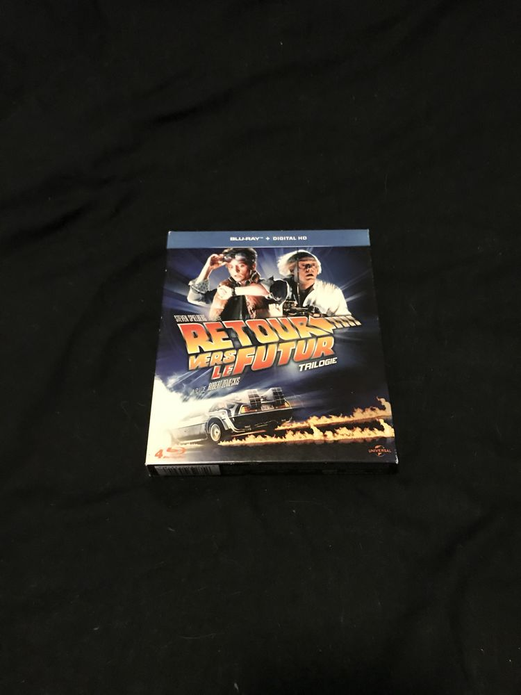Blu-ray deux coffrets  retour vers le futur trilogie. Indiana  jones 95 Fontainebleau (77)