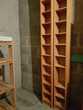 Deux colonnes de CD en bois 202*20*17