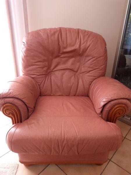 Deux fauteuils cuir 60 Chambéry (73)