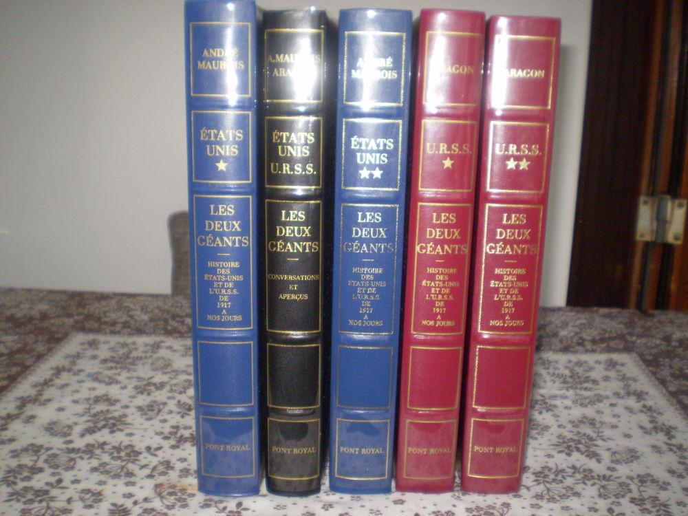LES DEUX GEANTS 5 VOLUMES -ETATS UNIS- URSS 40 La Bouilladisse (13)