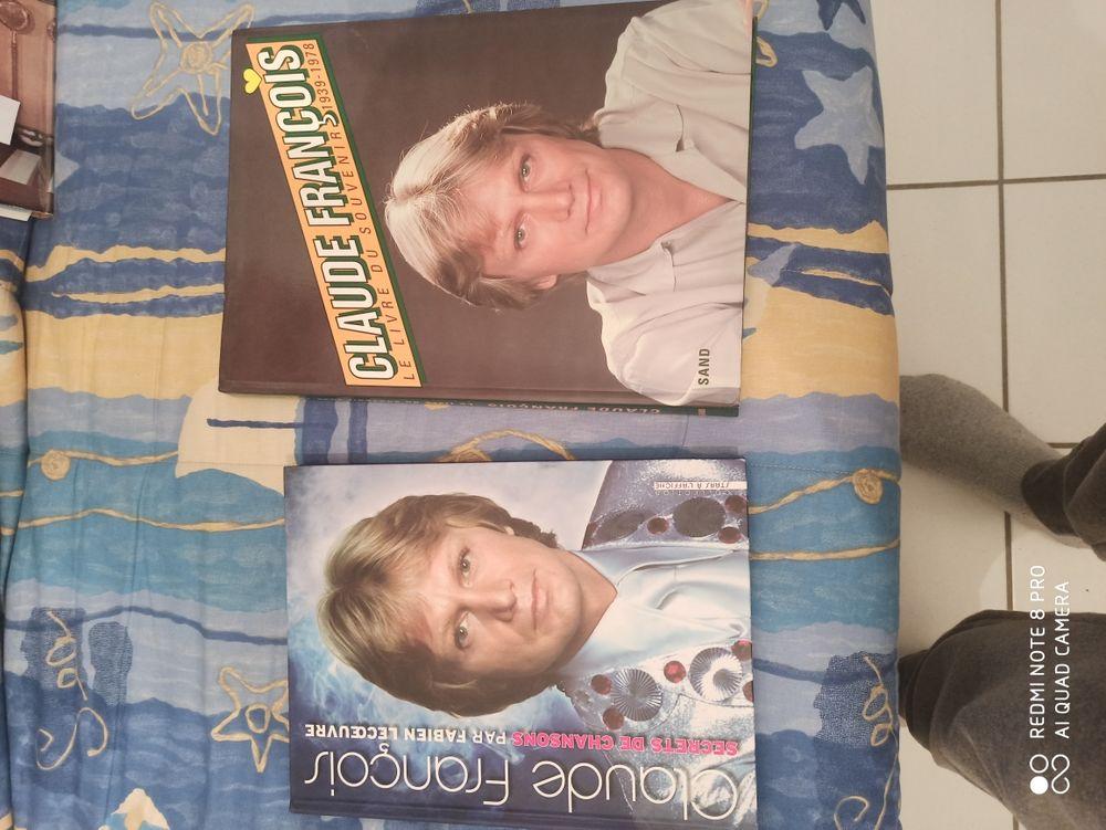 deux grands livres Claude François de qualité et rare 80 Lourdes (65)