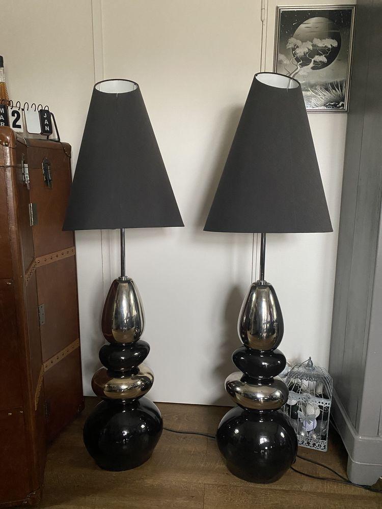 deux lampadaires galet design 130 Septeuil (78)