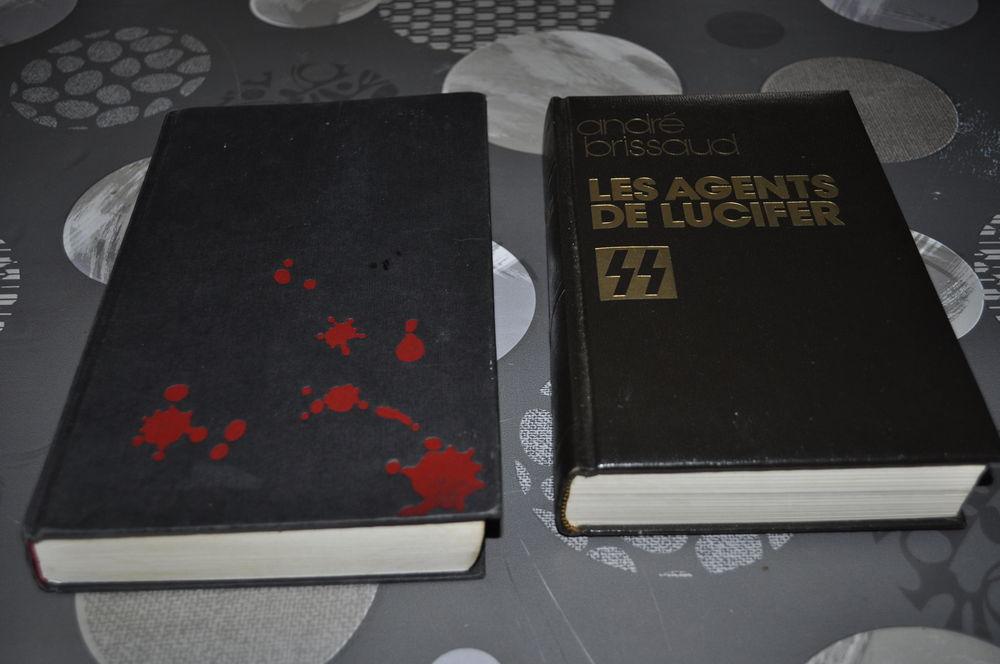 Lot de deux livres avec entre autre  André Brissaud  10 Perreuil (71)
