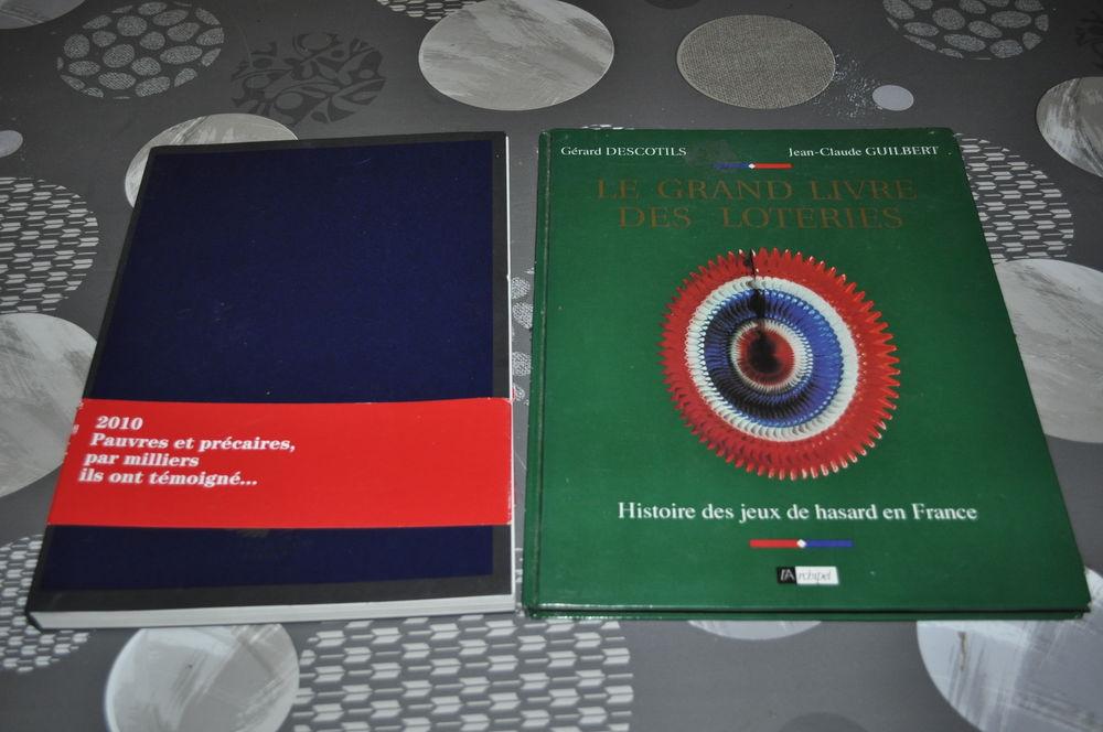 Lot de deux livres avec  Le grand livre des loteries  5 Perreuil (71)