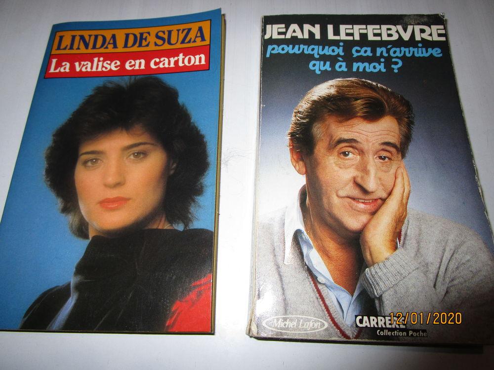 lot de deux livres  JEAN LEFBVRE et LINDA DE SOUSA 1 Chanteloup-en-Brie (77)