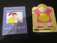 Deux livres pomme d api et Marie la cuisinière 0 Mérignies (59)