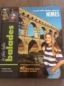 Deux livres de randonnées  5 Nîmes (30)