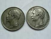 Lot de deux médailles Napoléon III Empereur 18 ?? 63 Bordeaux (33)