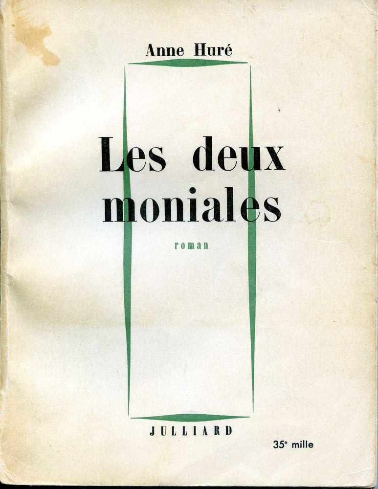 Les deux moniales - Anne Huré, 3 Rennes (35)