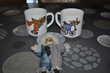 Lot de deux mugs/tasses sur les clowns