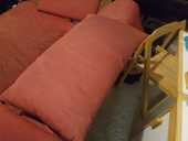 Deux oreillers de canapé de la marque ligne roset 10 Paris 18 (75)