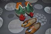 Deux paires de sabots miniature 5 Perreuil (71)
