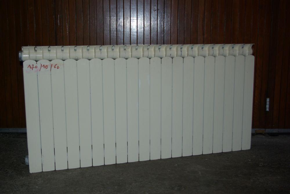 deux radiateur chauffage central fonte d,aluminium 60 Templeuve (59)