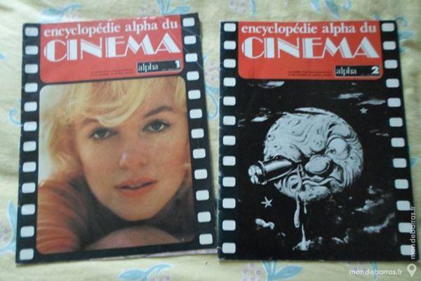 Deux revues «Encyclopédie Alpha du cinéma» 1978 4 Lorient (56)