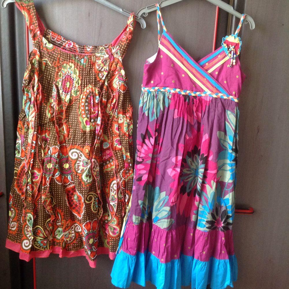 lot de deux robes7/8 ans (Zara kids +bougli bougla) en très bon état 30 Brunoy (91)