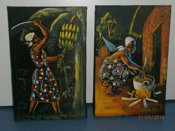 tableau africain occasion