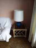 Deux tables basses en bambou dessus verre : 50 Marseille 8 (13)