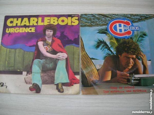LOT de DEUX 45 TOURS CHARLEBOIS 25 Nantes (44)