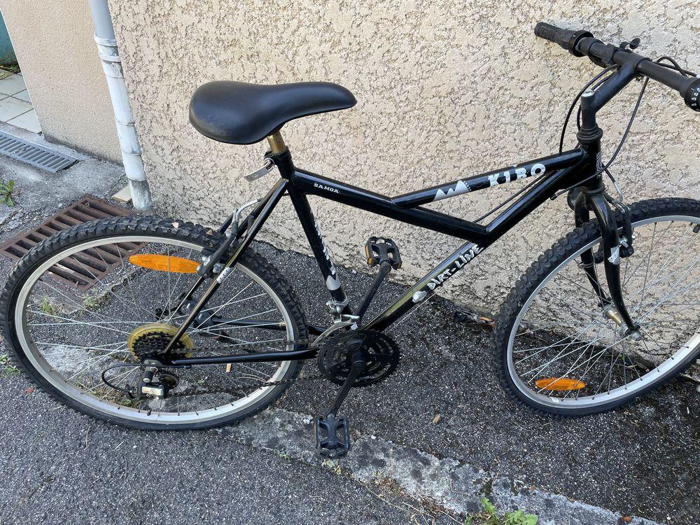 un lot de  2   deux vélos  Un route en bon état + un vtt  120 Vernaison (69)